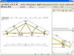 Roof truss design room in attic trusses give living for Hip roof design software